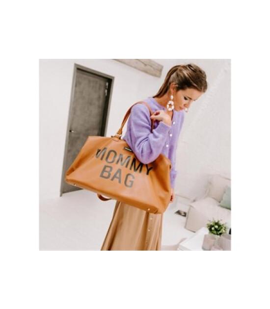 Childhome Mommy Bag Anne Bebek Bakım Çantası - Kahverengi Deri