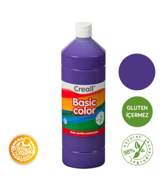Creall Basic Color - Tempara Poster Boya (1000 ml) // Mor