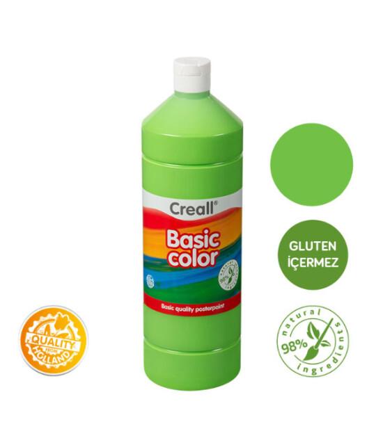 Creall Basic Color - Tempara Poster Boya (1000 ml) // Açık Yeşil