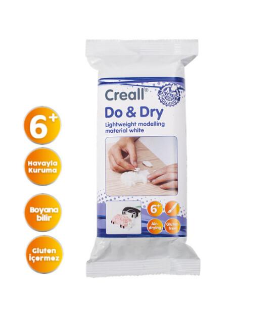 Creall Do & Dry Seramik Hamuru (250 gr) // Beyaz