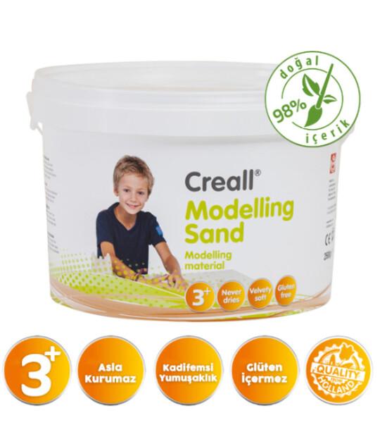 Creall Kinetik Modelleme Kumu (2500 gr) // Natural