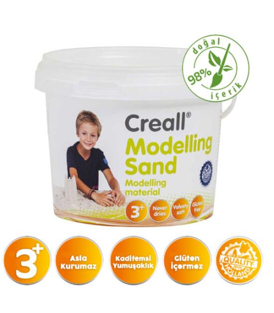 Creall Kinetik Modelleme Kumu (750 gr) // Natural