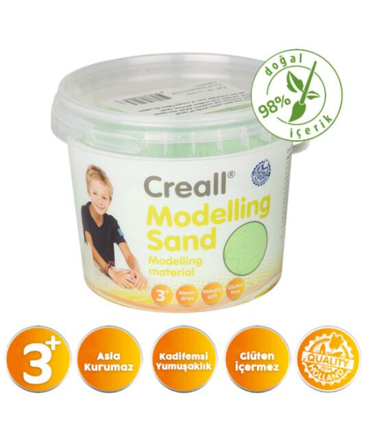 Creall Kinetik Modelleme Kumu (750 gr) // Yeşil