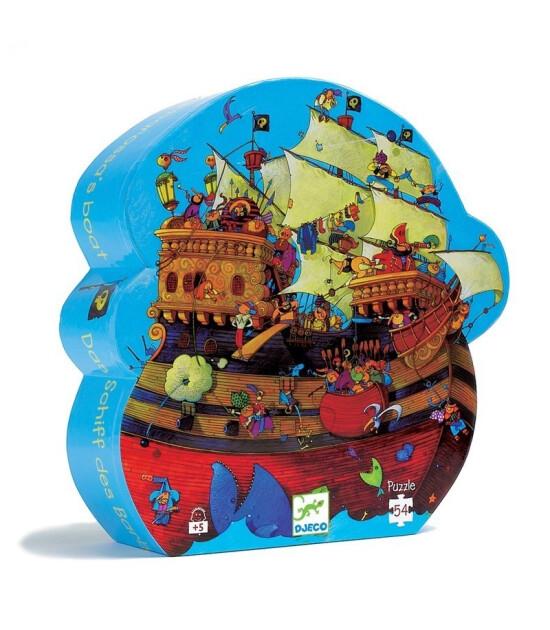 Djeco Puzzle // Barbarossa's Boat (54 Parça)