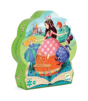 Djeco Dekoratif Puzzle 24 Parça/Sleeping Beauty