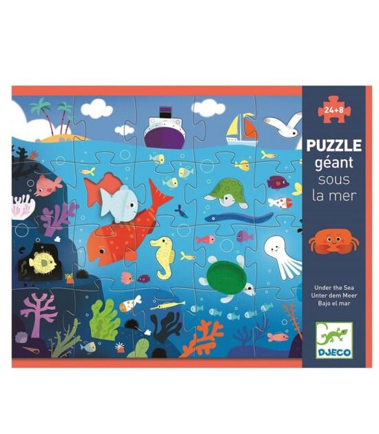 Djeco Dev Puzzle/ Deniz Altı 24 Parça