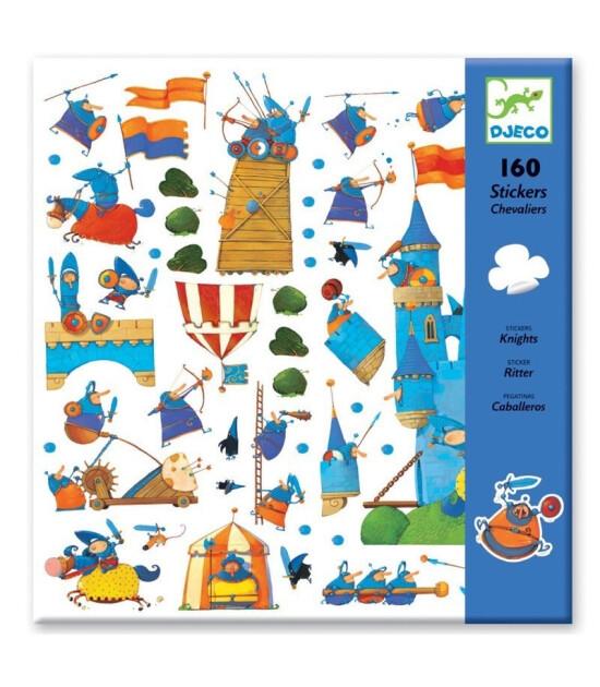 Djeco Sticker // Knights
