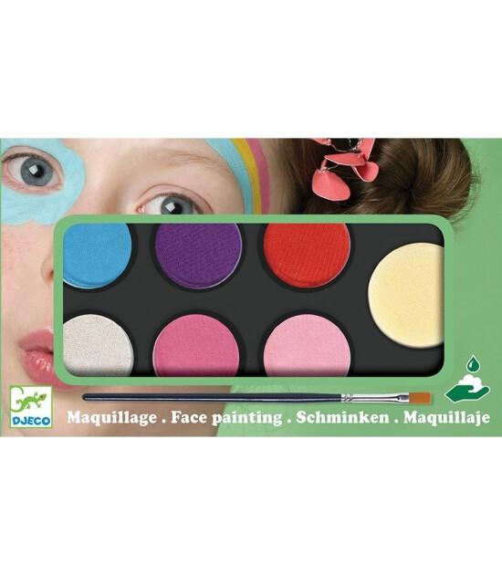Djeco Palette 6 colours - Sweet
