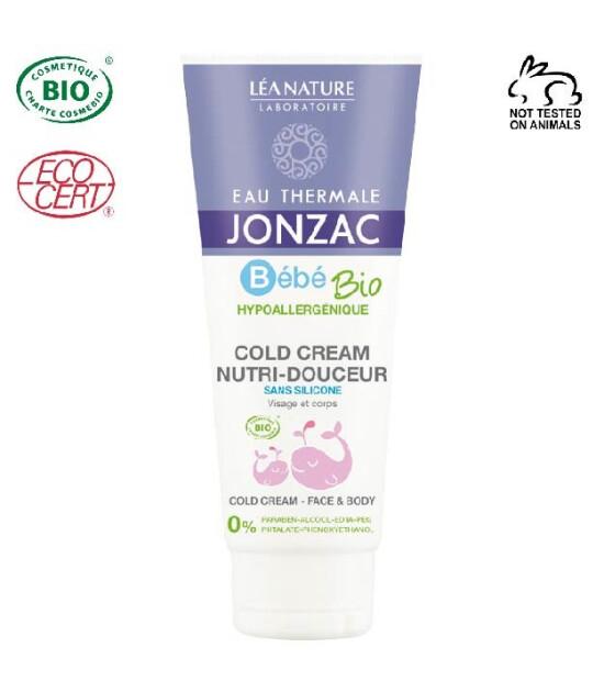 EAU THERMALE JONZAC Organik Sertifikalı Hipoalerjenik Bebeklere Özel Soğuk Krem 100 ml