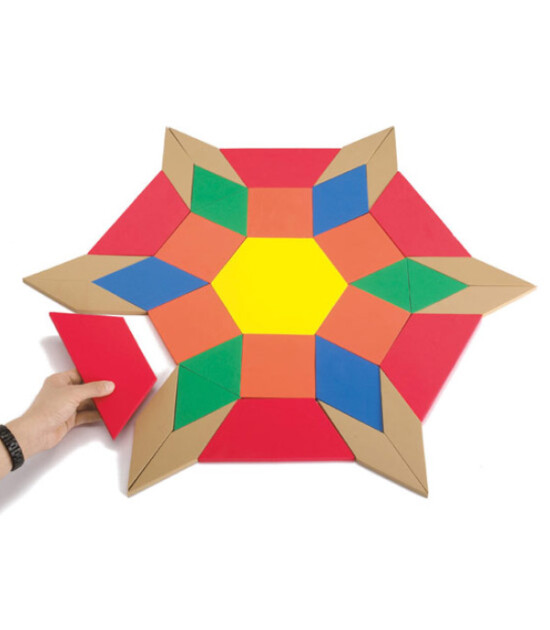 Edx Dev Manyetik Sünger Tangram