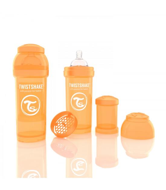 TwistShake Anti-Colic Turuncu Biberon (260 ml)
