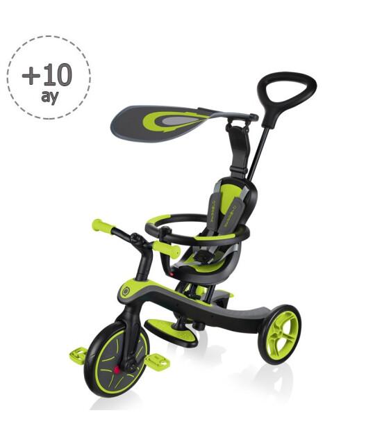 Globber Bisiklet Explorer 4In1 (Yeşil)