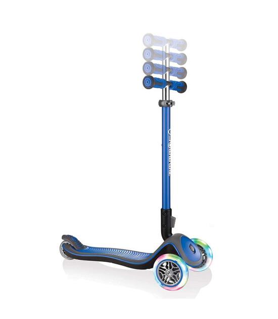 Globber Scooter/Elite Deluxe Işıklı/Lacivert