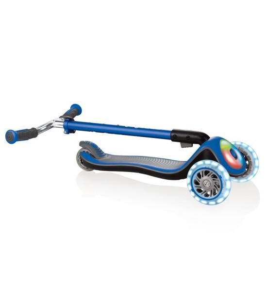 Globber Scooter/Elite DeluxeFull Işıklı/Mavi