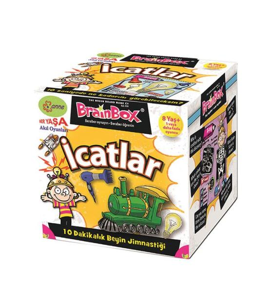 Green Board Games BrainBox İcatlar - TÜRKÇE