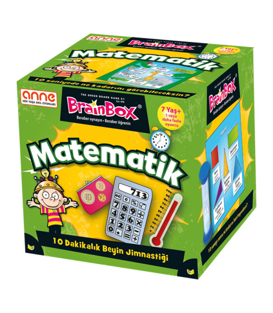 Green Board Games BrainBox Matematik - TÜRKÇE