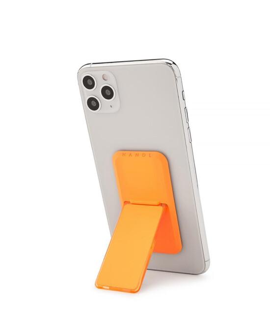 HANDLstick Stand Özellikli Telefon Tutucu // Neon Orange