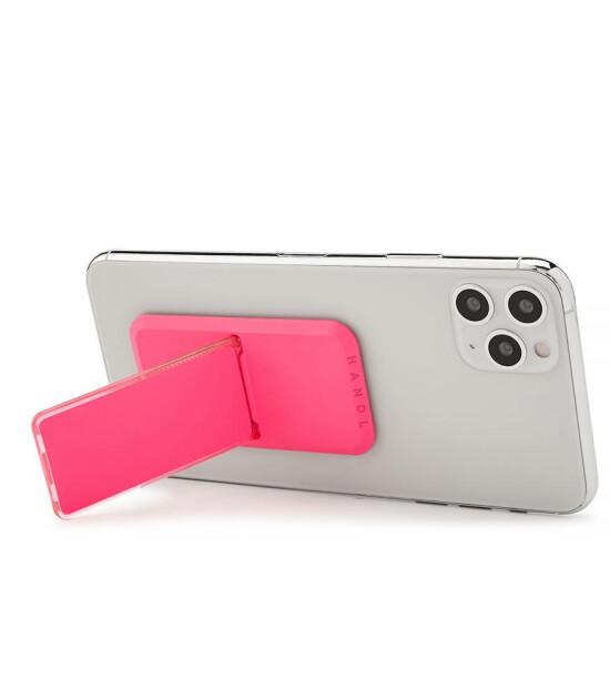 HANDLstick Stand Özellikli Telefon Tutucu // Neon Pink