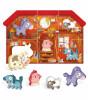 Headu Montessori Puzzle + Hayvan Karakterleri // Çiftlik (6 Parça)