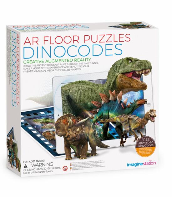 Imagine Station Aplikasyon Destekli Arttırılmış Gerçekli Puzzle // Dinocodes