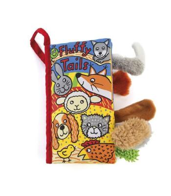 Jellycat Bez Kitap/Fluffy Tails