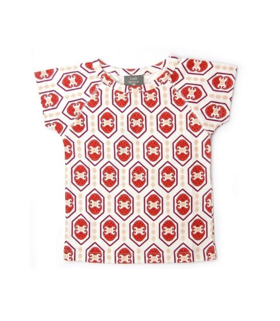 Kate Quinn Organics %100 Organik T-Shirt (Ruby)