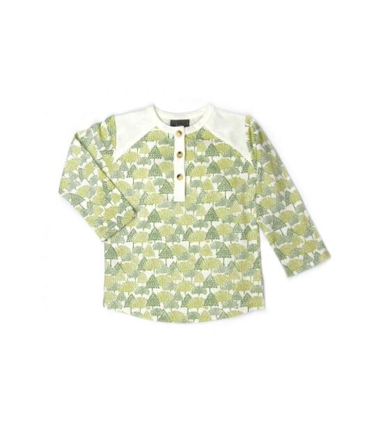 Kate Quinn Organics %100 Organik 0 Yaka T-Shirt (Forest)