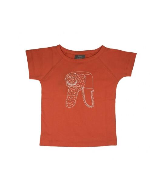 Kate Quinn Organics %100 Organik Kısa Kollu Tişört (Saffron)
