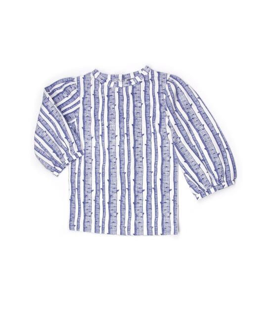 Kate Quinn Organics %100 Organik Karpuz Kol T-Shirt (Birch)