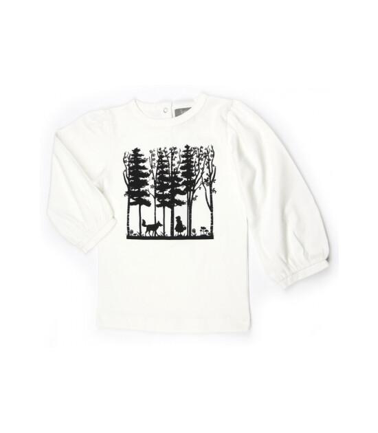 Kate Quinn Organics %100 Organik Uzun Karpuz Kol T-Shirt (Ridinghood)