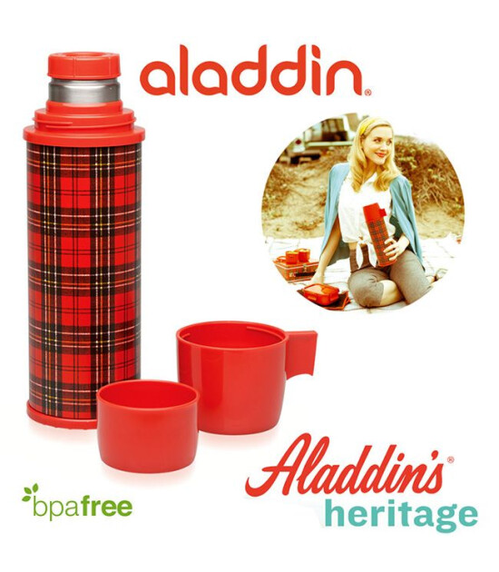 Aladdin Heritage Vakumlu Çift Kapaklı Termos 0,70 Lt