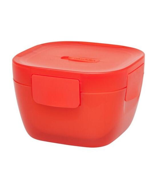 Aladdin Crave Yalitimli Yemek Kabi 0,85 Lt (Kırmızı)