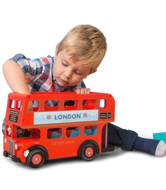 Le Toy Van Le Toy Van Sürücülü Londra Otobüsü