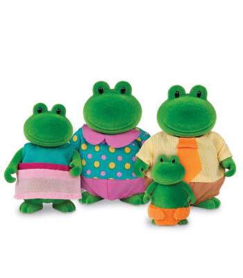 Li'l Woodzeez Kurbağa Ailesi