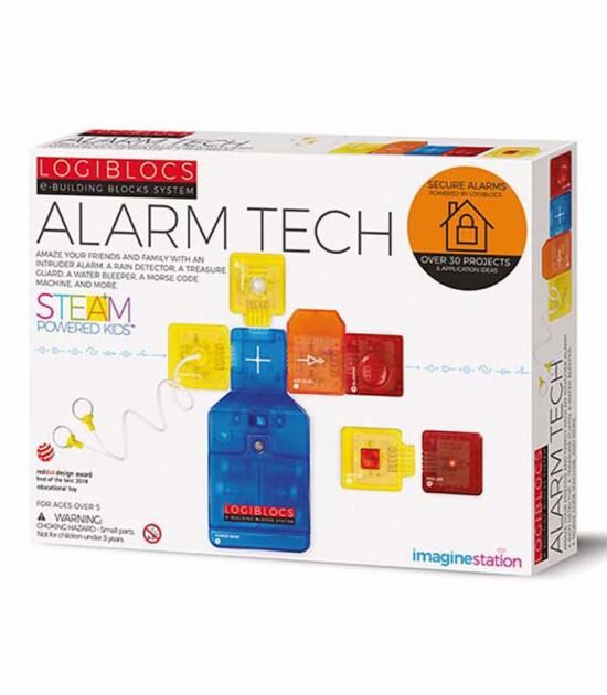 Logiblocs Alarm Tech Akıllı Elektronik Oyun Devresi