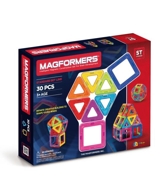 Magformers Mıknatıslı Basic Set 30 Parça