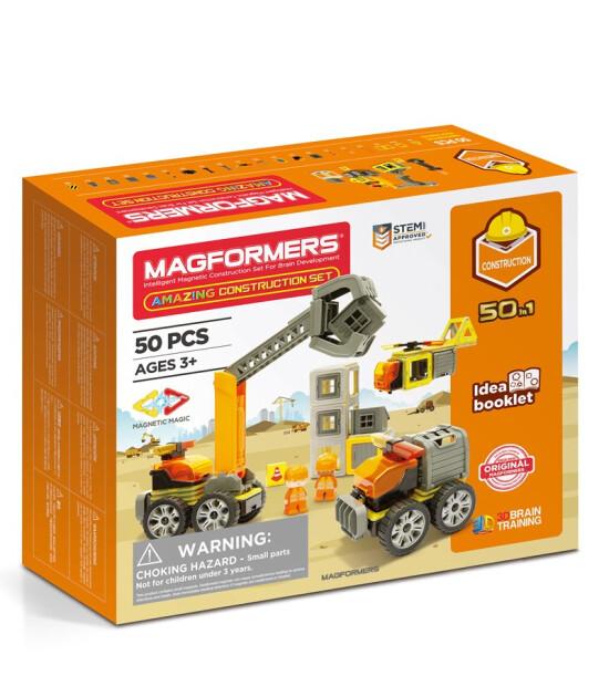 Magformers Mıknatıslı Construction Set (50 Parça)