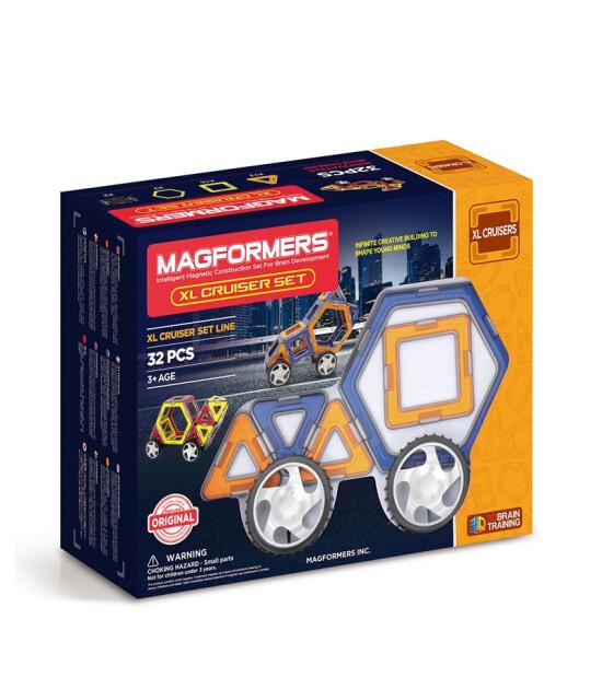 Magformers Mıknatıslı XL Cruiser Set (32 Parça)