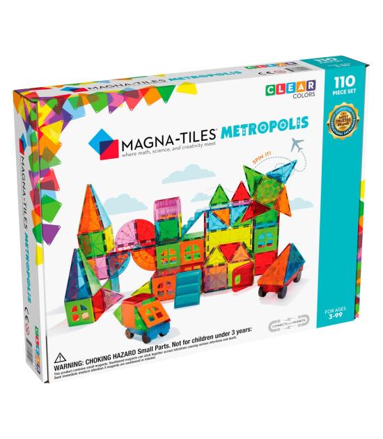 Magna-Tiles Metropolis (110 Parça)