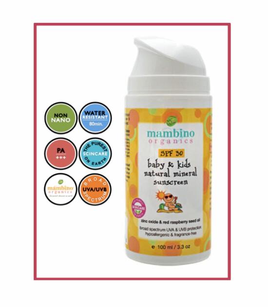 Mambino Organics Bebek & Çocuk Mineral Bazlı Organik Güneş Kremi
