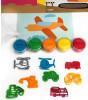 Mammacomicadough Oyun Hamur ve Kalıp Seti - Taşıtlar