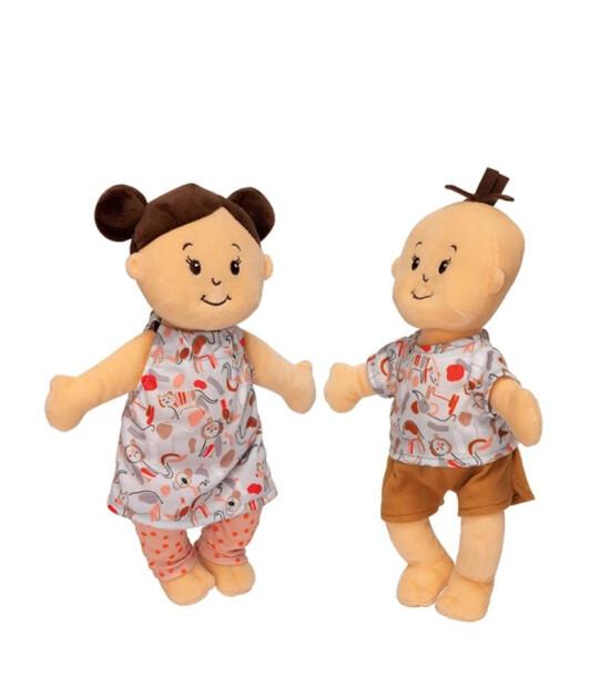 Manhattan Toy  Baby Stella İkizler Oyuncak Bebek