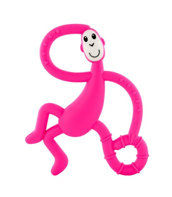 Matchstick Monkey Diş Oyuncağı Dans Eden Maymun // Pembe