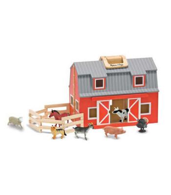 Melissa & Doug Ahşap Taşınabilir Çiftlik