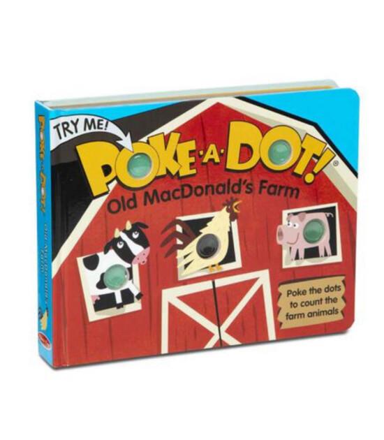 Melissa & Doug Poke-A-Dot - İnteraktif Kitap // Old MacDonald's Farm