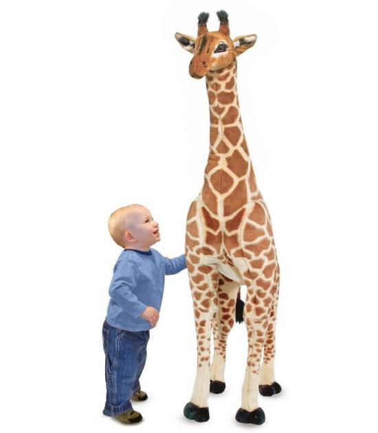 Melissa & Doug Dev Peluş Zürafa