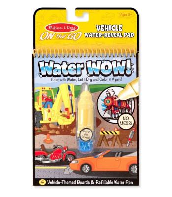 Melissa & Doug Water Wow! Su ile boyama kitabı - Araçlar