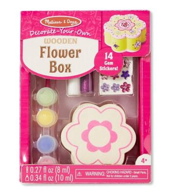 Melissa & Doug Ahşap Çiçek Kutu -Sen Yap Sen Oyna