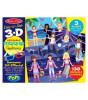 Melissa & Doug 3D Tak Çıkar Çıkartma Kitabı - Moda