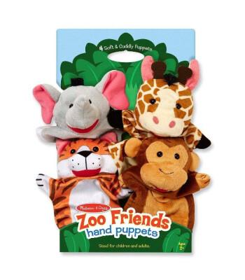 Melissa & Doug El kukla seti - Hayvanat Bahçesi